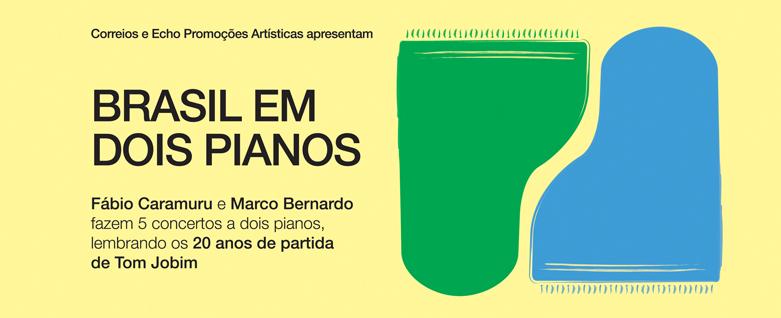 """Duo """"Brasil em dois pianos"""", no Museu da Casa Brasileira"""
