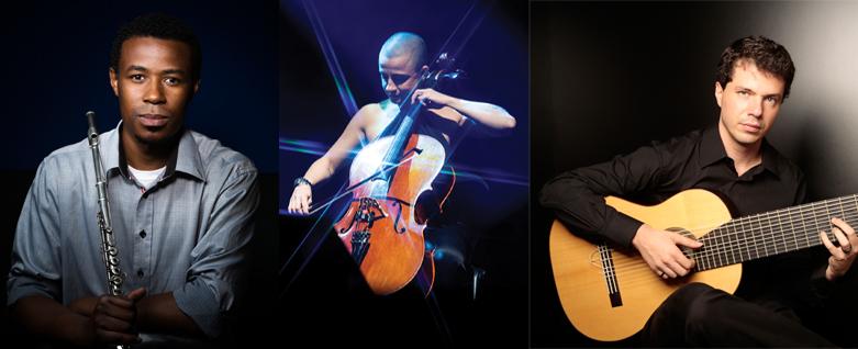 Leandro Oliveira, Patricia Ribeiro e Daniel Murray