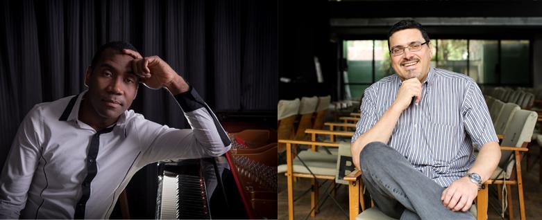 Pianistas Hercules Gomes e Marco Bernardo