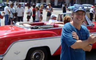 Fábio Caramuru em Havana, Cuba