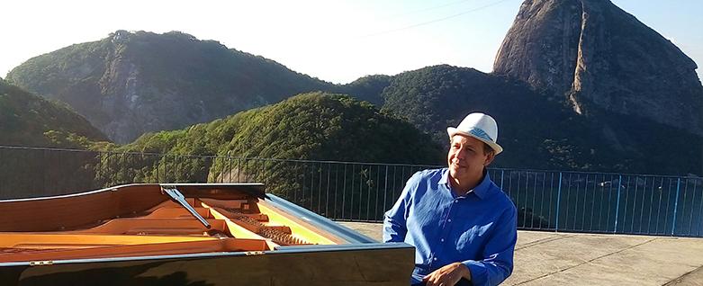 Pianista Fábio Caramuru lança EcoMúsica Rio