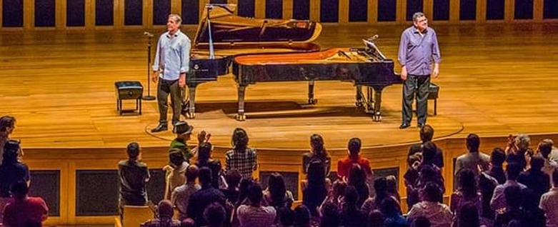 Fábio Caramuru e Marco Bernardo, 17 de fevereiro, 11h, na Sala São Paulo