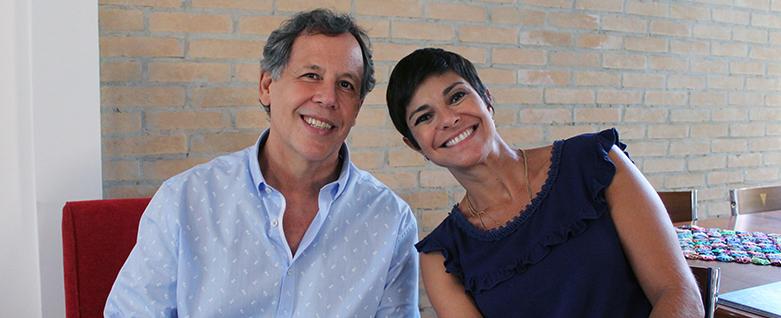 Bete Pacheco, da GloboNews, entrevista Fábio Caramuru, que fala sobre o Projeto EcoMúsica
