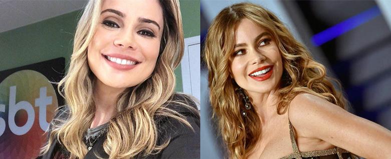 Separados(as) pelo nascimento (21) – Rachel Sheherazade, jornalista, e Sofía Vergara, atriz