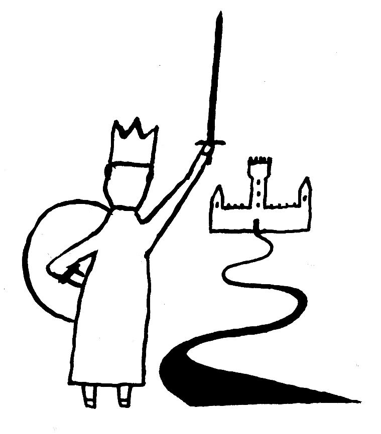 Rei, por Guto Lacaz, arte cedida para Memórias da Minha Mãe, de Fábio Caramuru