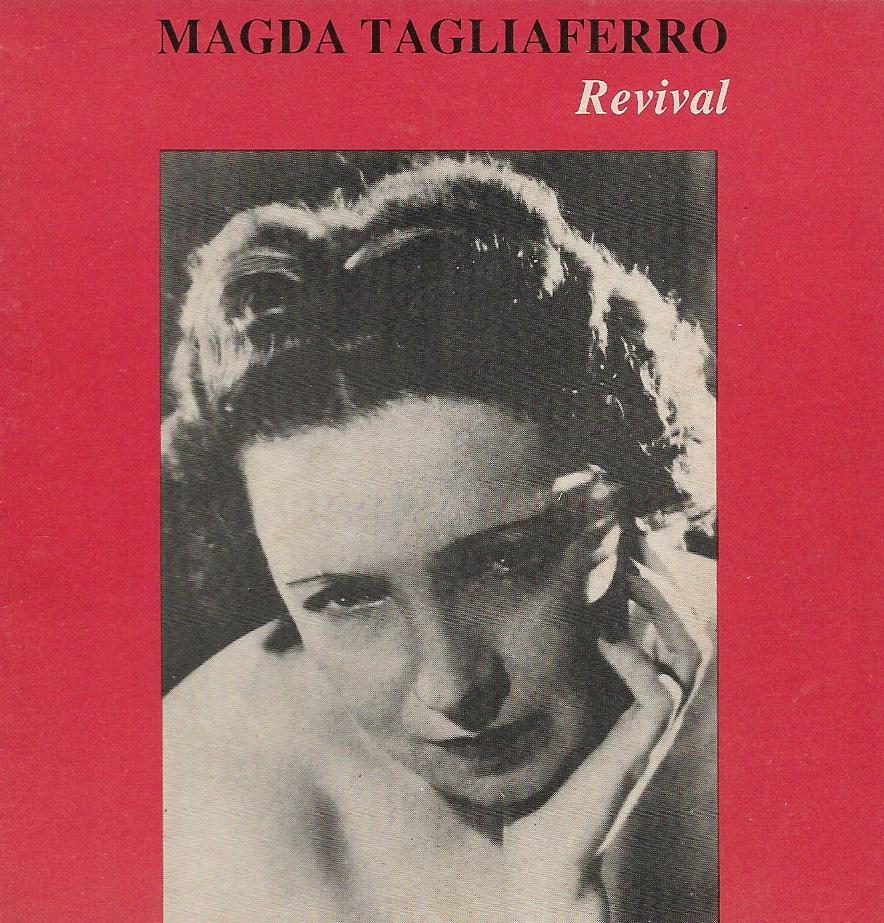 CD - Magda Tagliaferro Revival - Capa - 1991